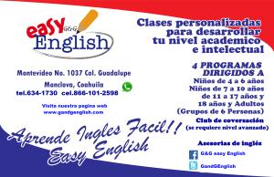 EASY ENGLISH PUBLICIDAD NVO